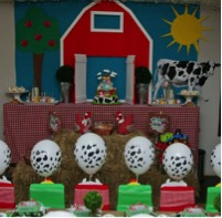 Ideas for cheerful and colorful kids parties