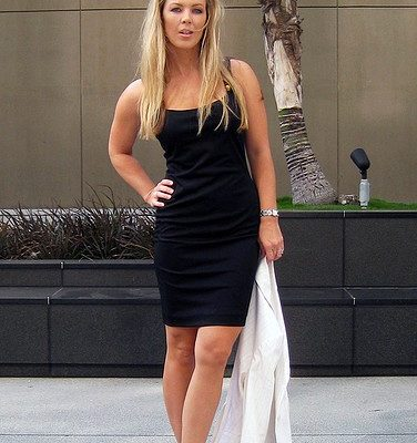 The one and only little black dress.