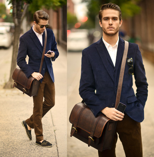 5 Ways for Men to Wear Messenger Bags this Summer | Ohindustry ...