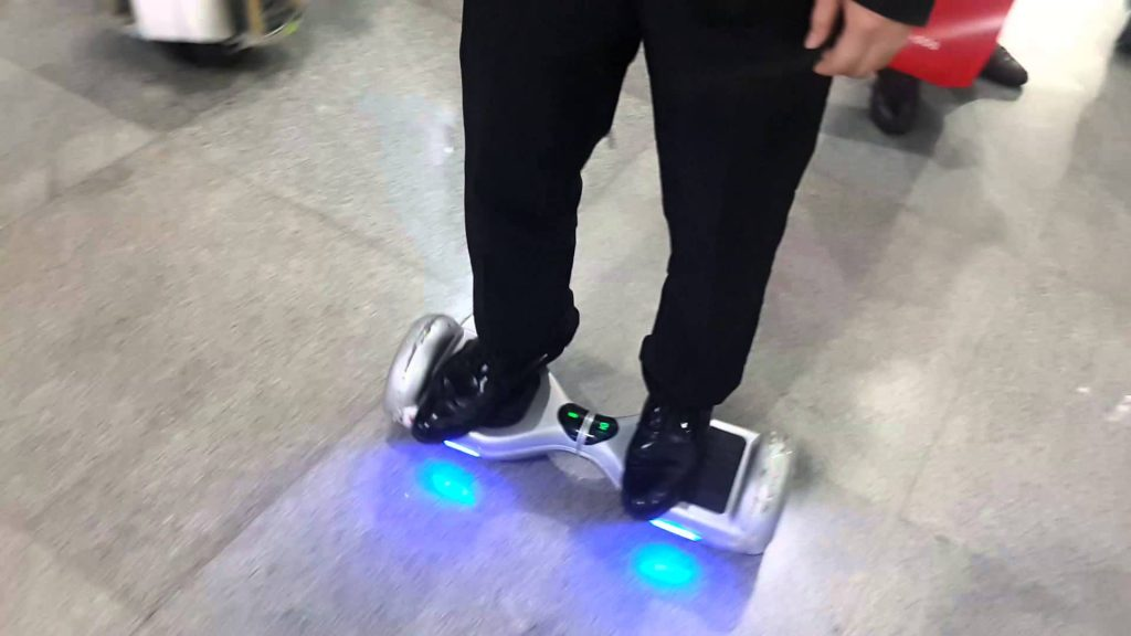 How to balance yourself with hands free scooters?