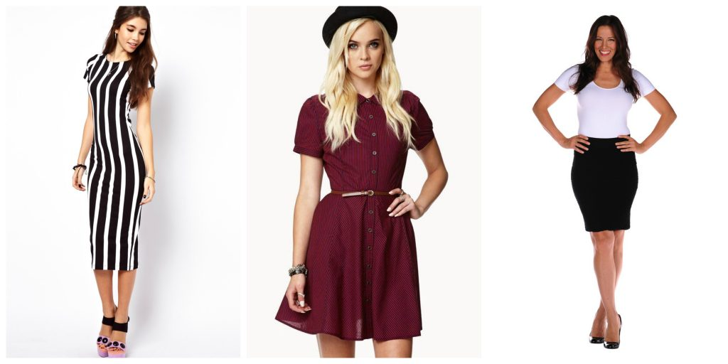 If you choose a few clothes wisely and apply a few tricks, you can create a much slimmer look!